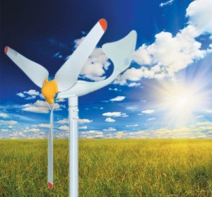 Small horizontal axis wind turbine